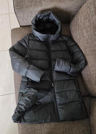Новый зимний пуховик hox италия 90% пух куртка парка на пуху матовый премиум