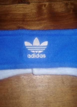 Флисовая повязка на голову adidas