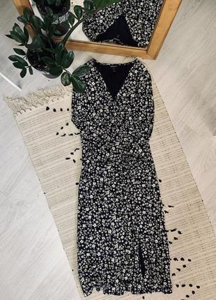 Міді плаття в квітковий принт🌿