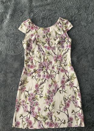 Сукня принт квітковий