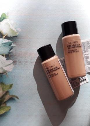 Тональный shiseido synchro skin self-refreshing