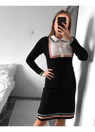 Шикарное платье с поясом miss patina london { не zara}