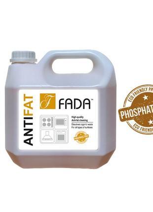 Засіб очищуючий для видалення пригорілого жиру фада анти жир 3л (fada anti fat), 3 l