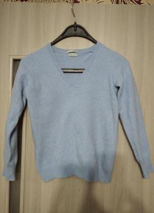 100%шерстяной ддемпер реглан свитер кофта италия