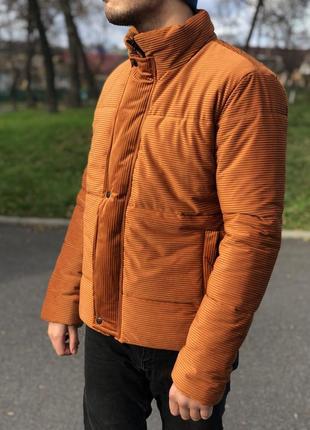 Зимняя куртка велюровая