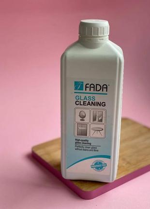 """Засіб для чищення скляних та дзеркальних поверхонь """"фада скло  (fada™ glass) """" 1 л"""