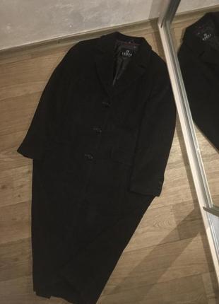 Шерстяное пальто немецкого бренда barbara lebek ❤️