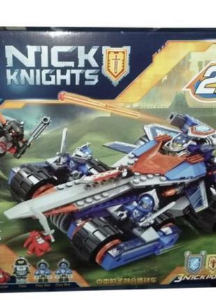 Конструктор nick knights 2в1 разрушитель клэя и робот