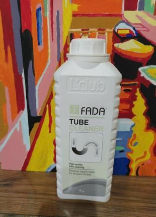"""Засіб для чищення труб і каналізації """"фада трубоочисник"""" ™fada tube cleaner 1 л"""