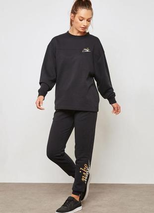 Теплые спортивные брюки c флисом, джоггеры nike plus size, оригинал, размер xxl