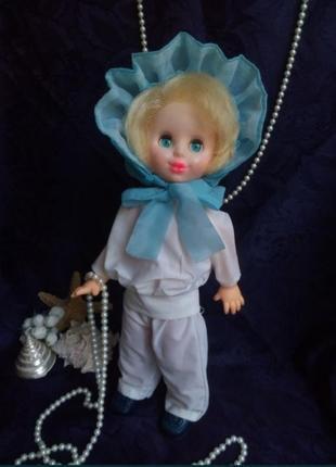 Рита кукла ссср донецкого завода в капоре в одежде