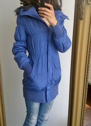 Очень хорошая куртка savage синтапон длинная