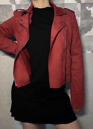 Куртка тканевая косуха