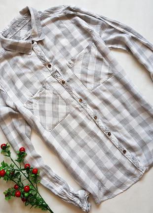 Стильная легкая коттоновая рубашка
