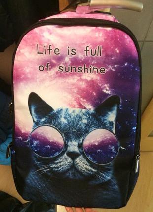 Картинки космос с котом в очках