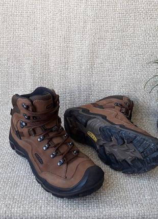 Черевики шкіряні оригінал keen waterproof 1016988 розмір 42