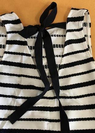 Платья сарафан в полоску на завязках с красивой спинкой reserved