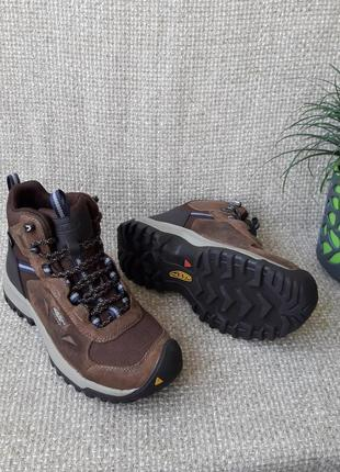 Черевики шкіряні оригінал keen basik ridge waterproof 1023751 розмір 37.5