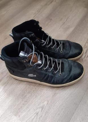 Фирменные кожаные ботинки