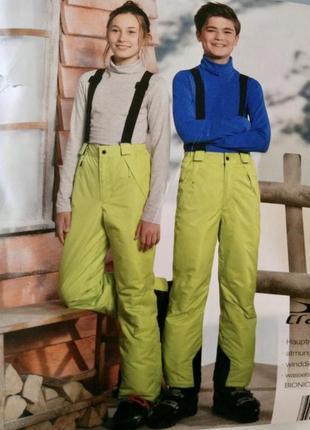 Лыжные термо штаны crane kids германия 11-12лет
