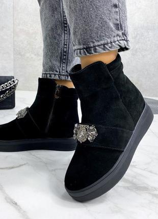 Ботиночки натуральный замш💋