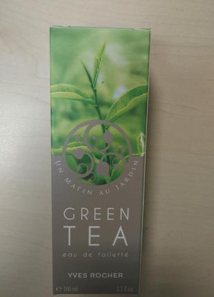 Туалетная вода зеленый чай