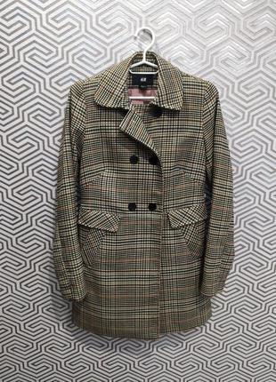 Стильное элегантное пальто h&m