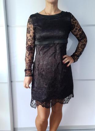 Очень красивое ажурное платье*