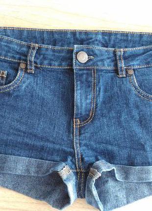 Шорты джинсовые denim&co