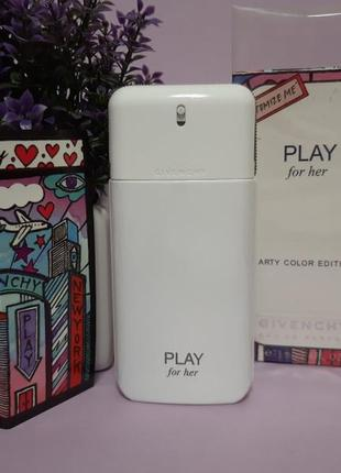 💖оригинал💖 75 мл givenchy play for her arty color edition