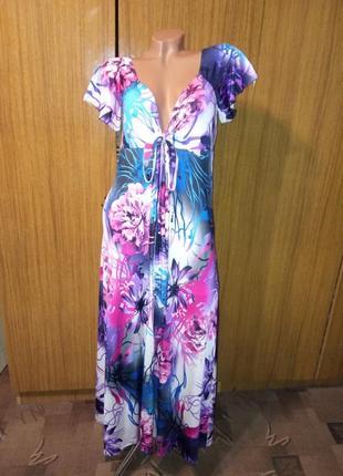 Платье в пол kdk london