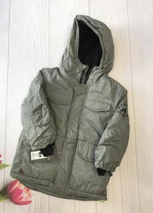 Лижна зимова куртка на хлопця 110см {на флісі}🔥