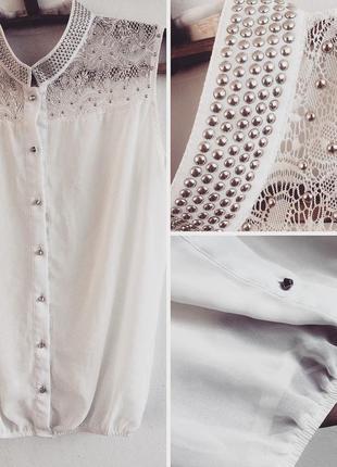Шифоновая блуза shk