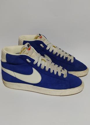 Nike оригинал шикарные высокие кеды размер 38
