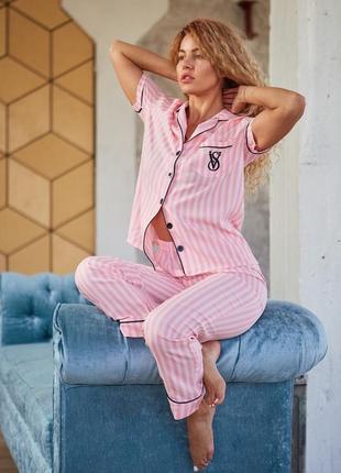 Шикарная хлопковая пижама vs снова в наличии