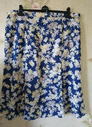 Новая женская юбка миди большого размера eastex