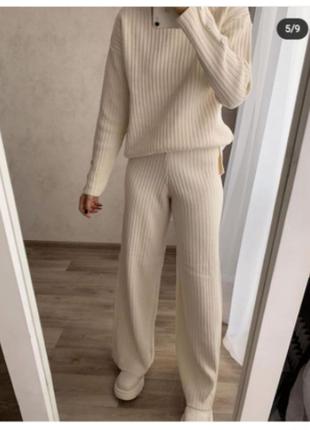 Супер актуальный теплый костюм