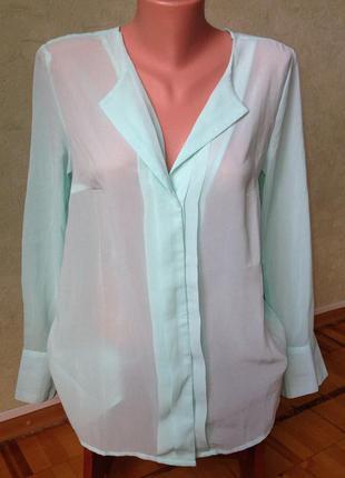 Красивая мятная блуза bodyflirt