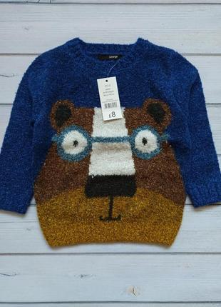 Новый теплый свитер george 86-92, 92-98