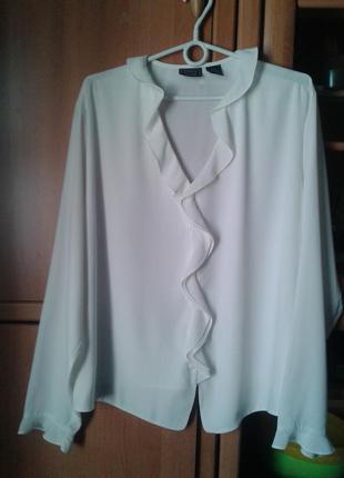 Элегантная белая блуза laura scott