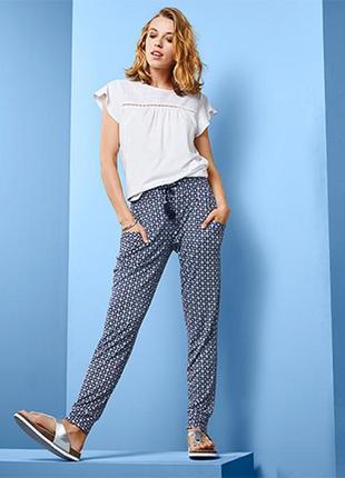 Трикотажные брюки чино штаны размер 42-46 наш tchibo тсм