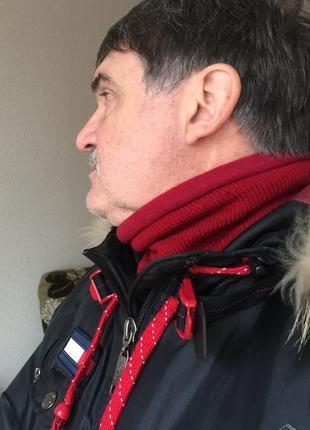 Снуд, горловик, хомут на шею зимний.