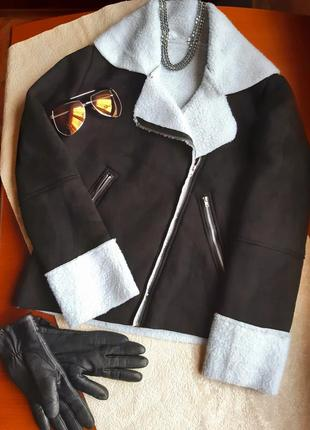 Дубленка,куртка(эко мех)