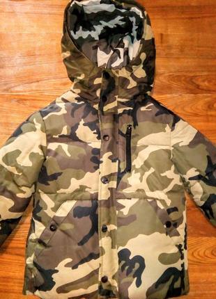 Куртка двухсторонняя zara
