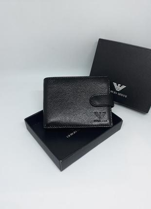 Мужской кожаный кошелек, чоловічий шкіряний гаманець