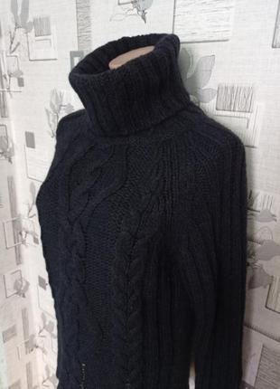 Шерстяной свитер гольф marc o'polo