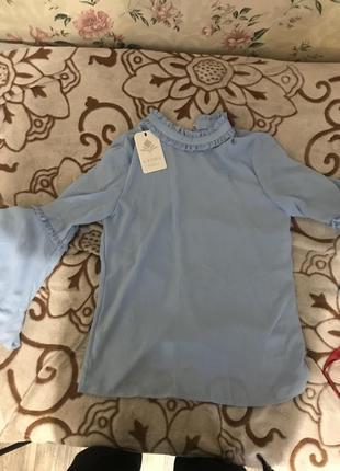 Блузка со стильными рукавами