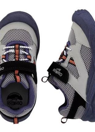 Удобные и супер стильные кроссовки для мальчика oshkosh (сша)