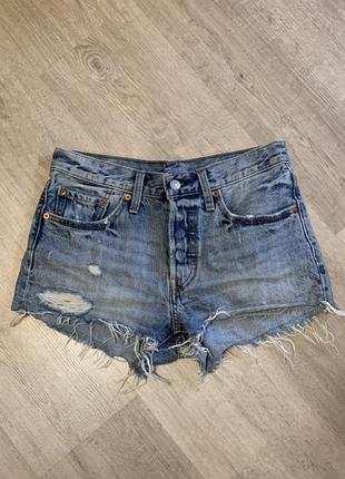 Короткие шорты levis с плотного качественного джинса