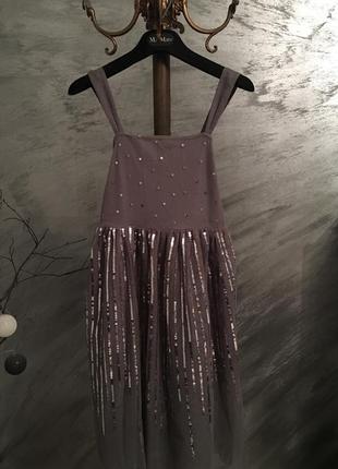Неймовірне нове плаття в паєтки н&м ,платье на девочку в паетки